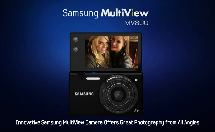 Innovative Samsung MultiView Camera Offers Great Photography from All Angles