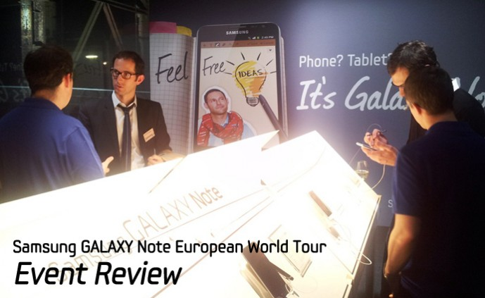 GALAXY Note European World Tour_m