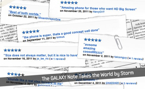 The GALAXY Note Takes_m