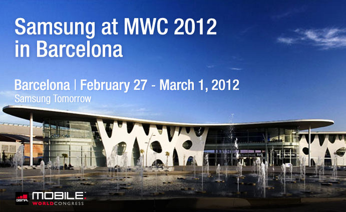 Samsung at Mobile World Congress 2012