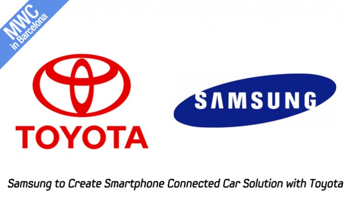 Samsung to Create Smartphone Connected Car Solution with Toyota_m
