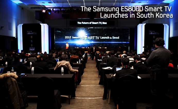 Samsung ES8000 Smart TV Launches in South Korea