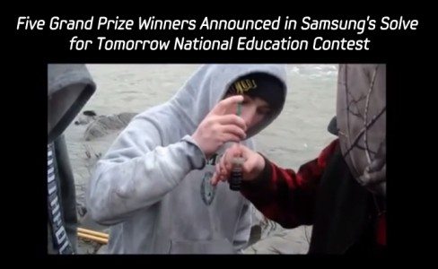 Five Grand Prize Winners Announced in Samsung's_m