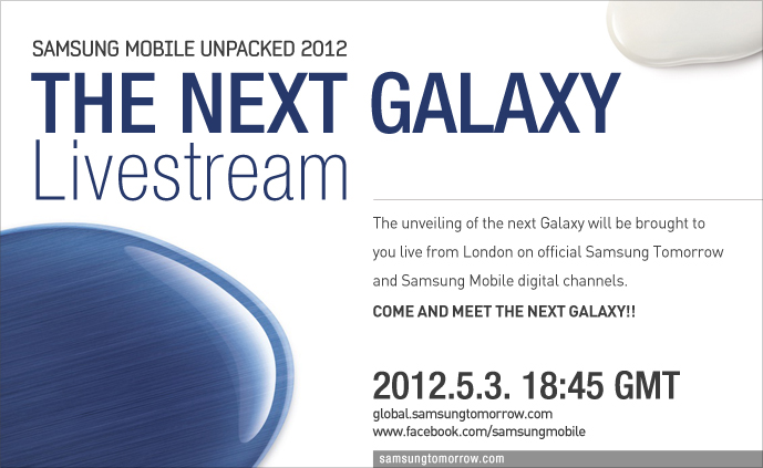 Official video of the Samsung Mobile Unpacked 2012