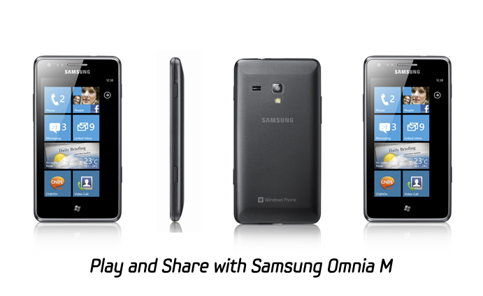 Play and Share with Samsung Omnia M