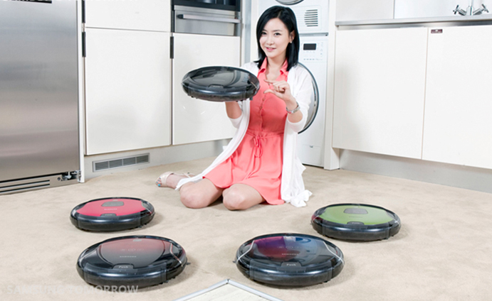 cleaner robot so smart it introduces itself samsung electronics official blog samsung. Black Bedroom Furniture Sets. Home Design Ideas