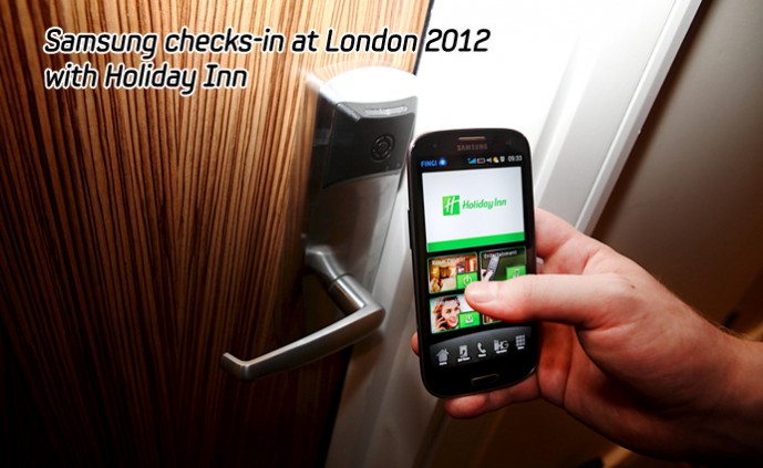Samsung checks-in at London 2012 _m