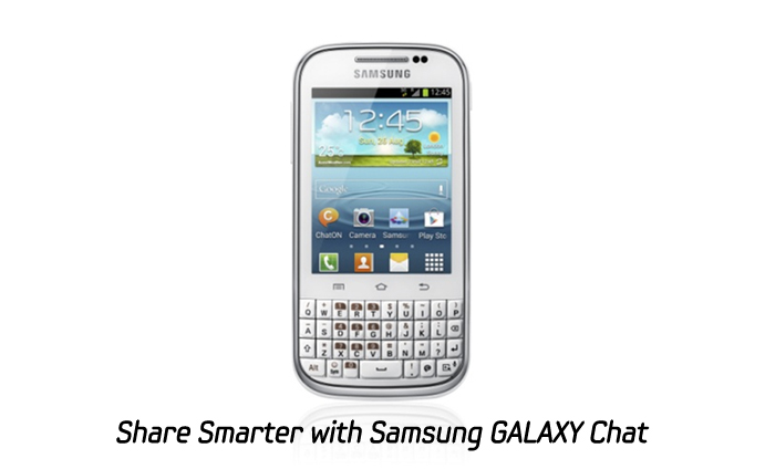 Share smarter with Samsung GALAXY Chat