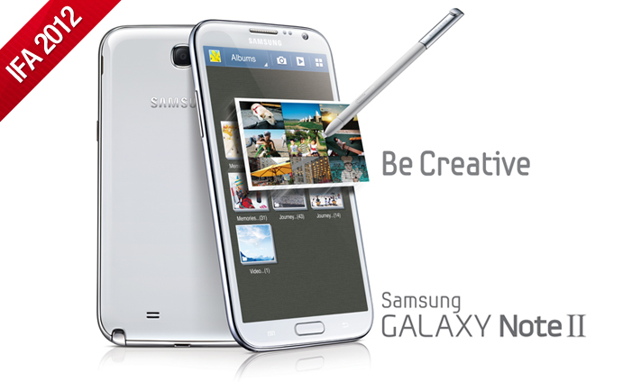 Be Creative, Be Expressive with the GALAXY Note II
