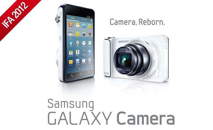 Samsung presents 'Camera. Reborn.' – the GALAXY Camera
