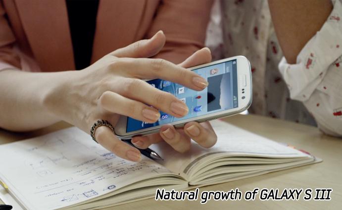 Natural growth of GALAXY S III