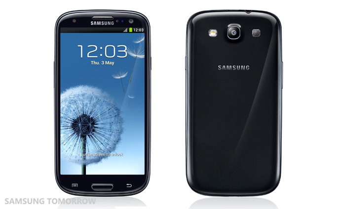 New colors of Samsung Galaxy S3:Sapphire Black