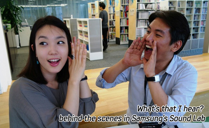 What's that I hear? behind the scenes in Samsung's Sound Lab