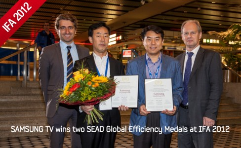 SAMSUNG TV wins two SEAD Global Efficiency Medals at IFA 2012_m