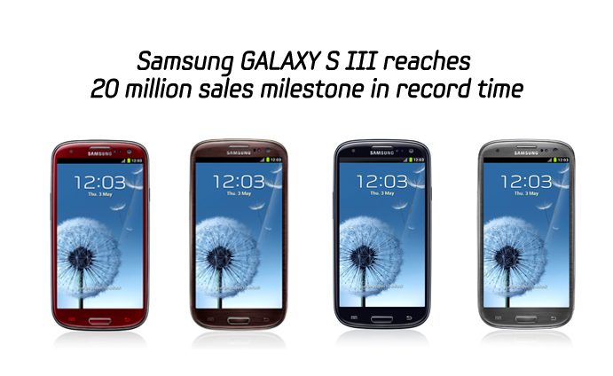 Samsung GALAXY S III reaches 20 million sales milestone in record time
