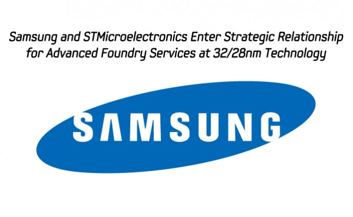 Samsung and STMicroelectronics Enter Strategic Relationship_m