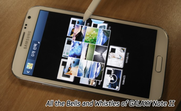 All the Bells and Whistles of GALAXY Note II_m