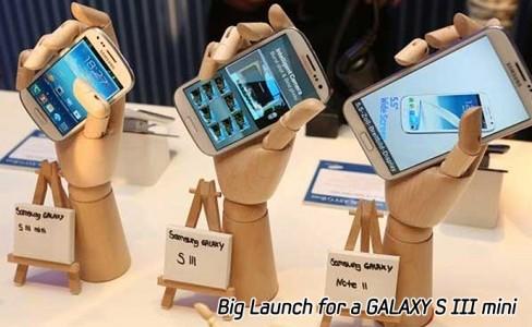 Big Launch for a GALAXY S III mini_m