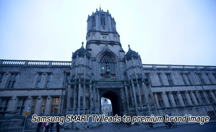 Samsung SMART TV leads to premium brand image_m