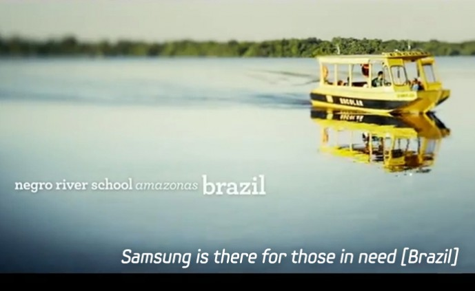 Samsung is there for those in need Brazil_m
