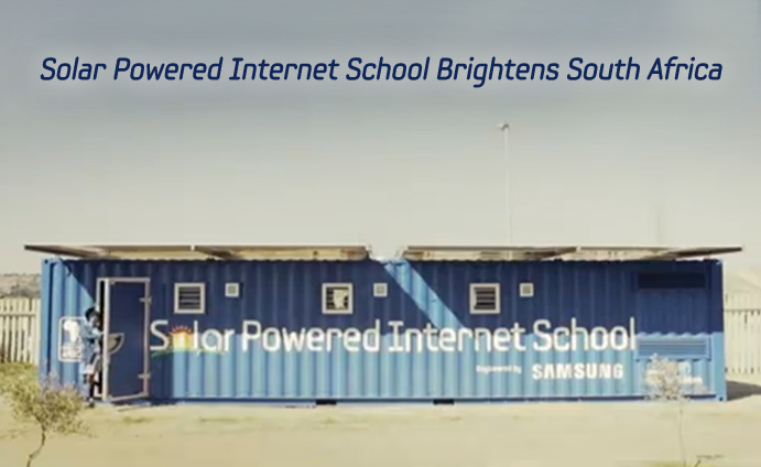 Solar Powered Internet School Brightens South Africa