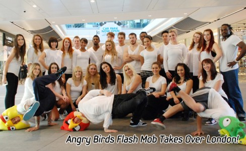 Angry Birds Flash Mob Takes Over London_m