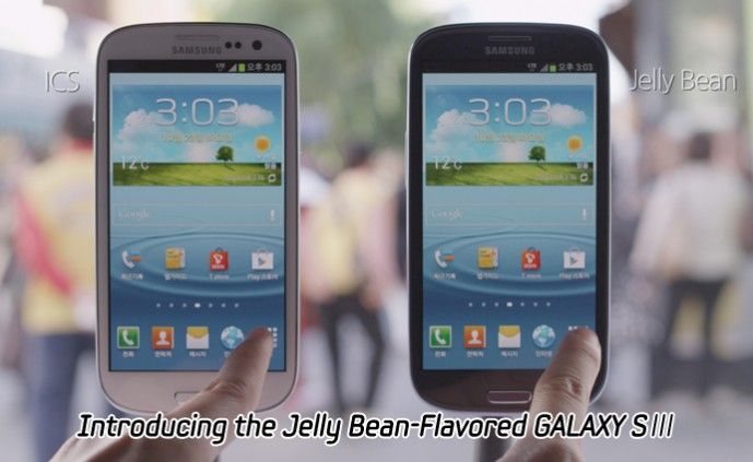 Introducing the Jelly Bean-Flavored GALAXY SⅢ_m