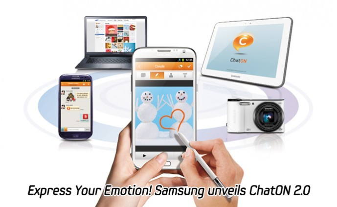 Express Your Emotion! Samsung unveils ChatON_m