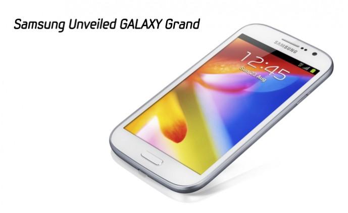 Samsung Unveiled GALAXY Grand_m