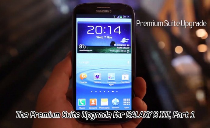 The Premium Suite Upgrade for GALAXY S III_m