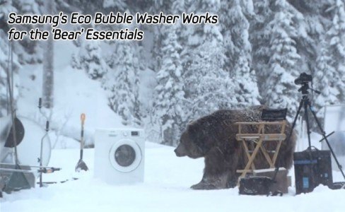 Samsung's Eco Bubble Washer Works for the 'Bear' Essentials -main