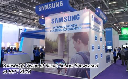 Samsung's Vision of Smart School Showcased at BETT 2013-MAIN
