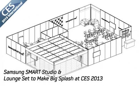 Samsung SMART Studio & Lounge Set to Make Big Splash at CES 2013