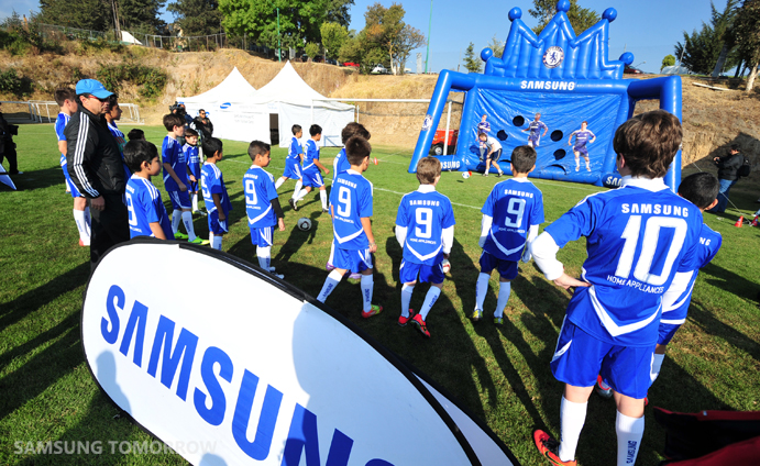 Living the Dream with Samsung-Chelsea FC Youth Football Camp