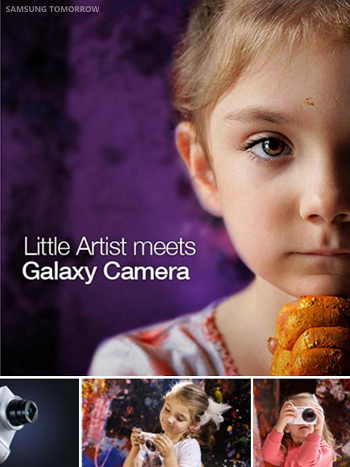 A Little Artist Meets GALAXY Camera