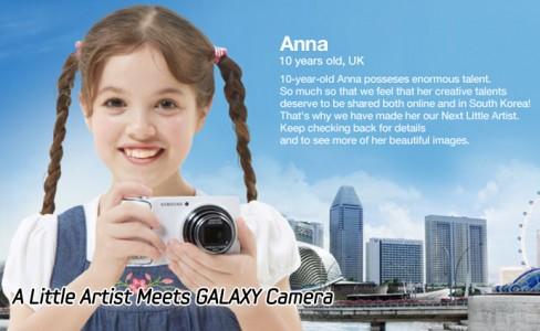 A Little Artist Meets GALAXY Camera-main