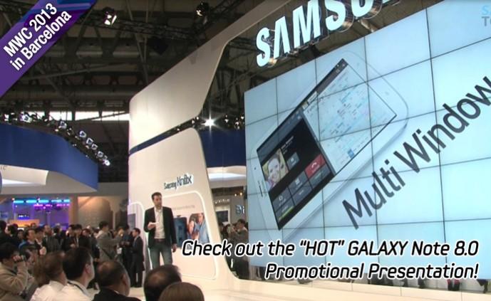 GALAXY Note 8.0 Presentation