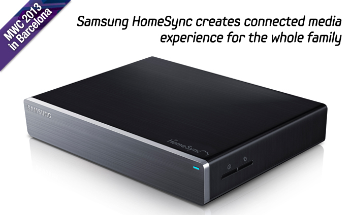 Samsung HomeSync creates connected media experience for the whole family