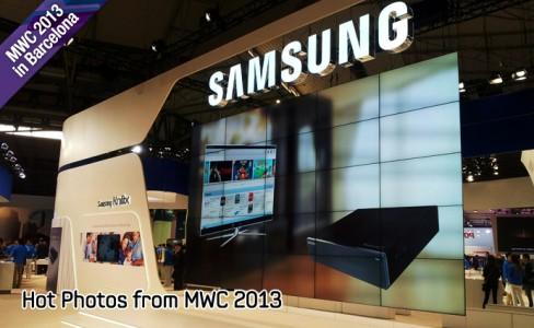 Hot Photos from MWC 2013