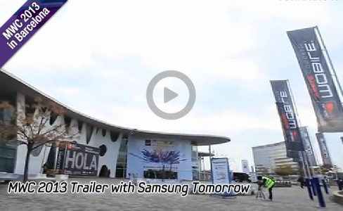 MWC 2013 Trailer with Samsung Tomorrow-main