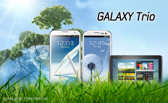 Samsung's GALAXY Trio Helps Save the Earth
