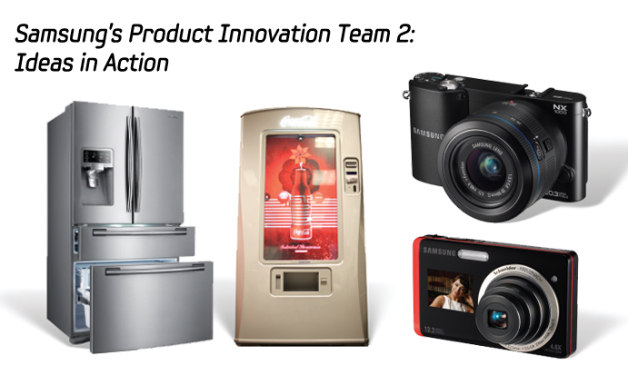 """samsung product innovations essay In the late 1990s, samsung opened a devoted """"value innovation program   samsung intended to expand its smart phone delivery by trebling its product line, ."""