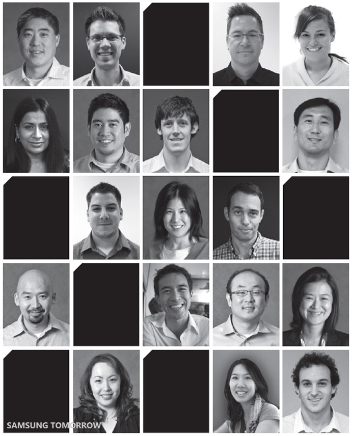 Samsung's Product Innovation Team