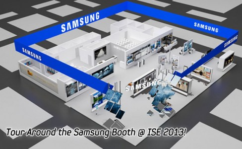 Tour Around the Samsung Booth @ ISE 2013-main