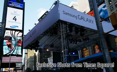Exclusive Shots from Times Square, galaxys4