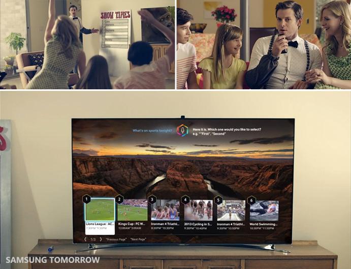 Tương tác bằng giọng nói với Samsung smart TV