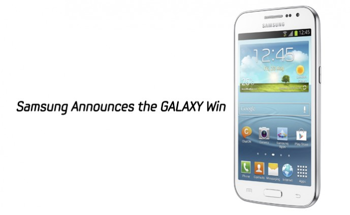 Samsung Announces the GALAXY Win main image