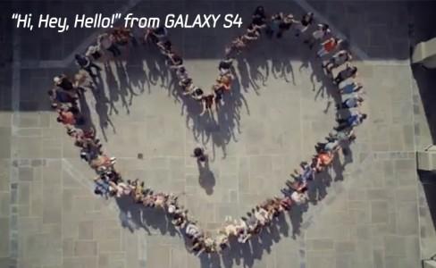 """""""Hi, Hey, Hello!"""" from GALAXY S4"""