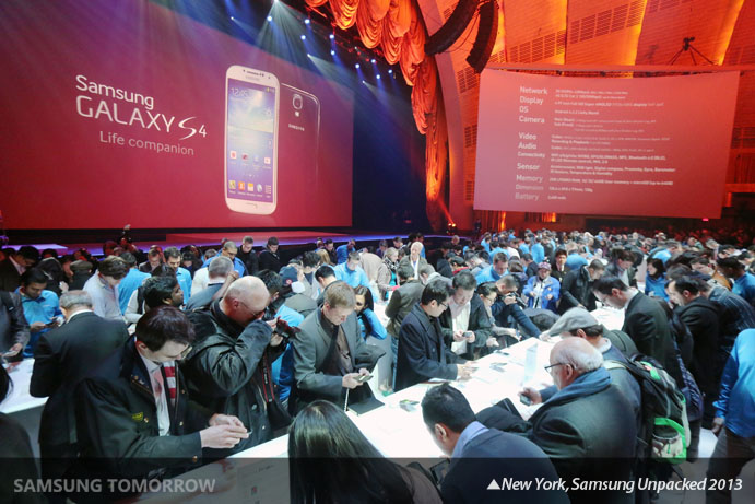 New York, Samsung Unpacked 2013