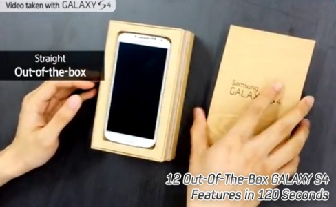12 Out-Of-The-Box GALAXY S4 Features in 120 Seconds4